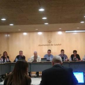 Ciutadans (C's) Calafell logra que las grandes empresas suministradoras de electricidad, agua, gas y telefonía paguen sus tasas íntegramente