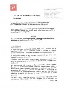 Salida ayuntamiento Calafell AMI 1